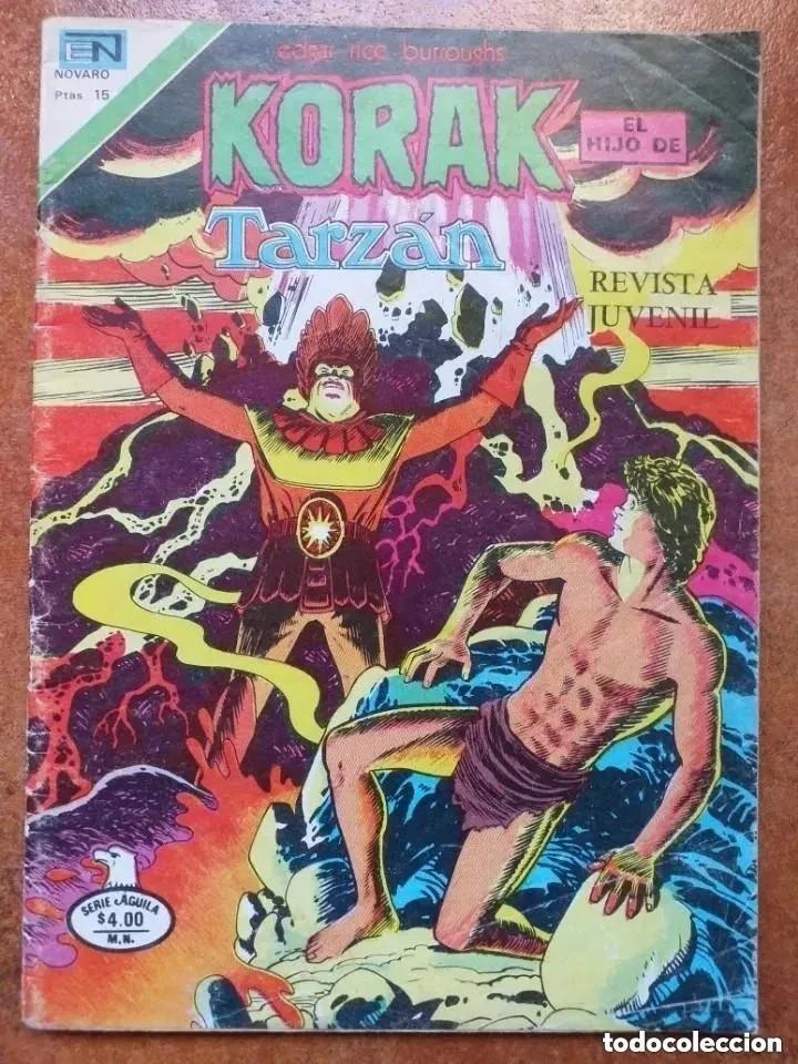 KORAK EL HIJO DE TARZAN. NUM 2-68. NOVARO. (Tebeos y Comics - Novaro - Tarzán)