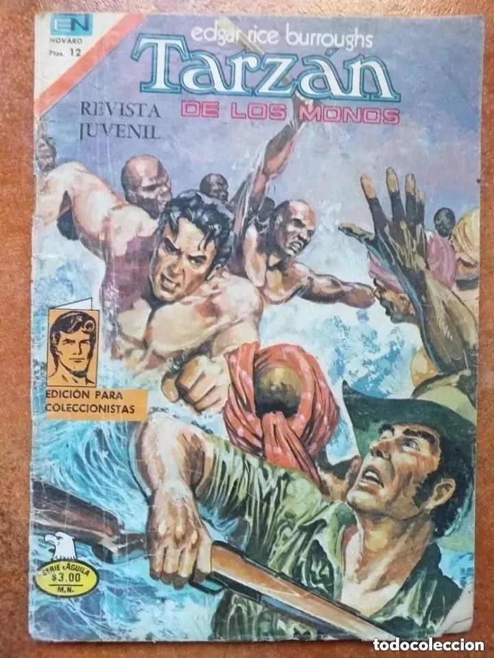 TARZAN DE LOS MONOS. NUM 2.498. NOVARO (Tebeos y Comics - Novaro - Tarzán)