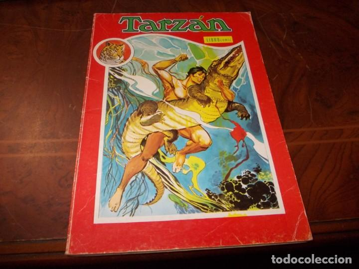 TARZÁN, LIBRO CÓMIC TOMO XIII 1.975, INTERIOR ENCUADERNACIÓN DÉBIL ALGUNA HOJA A PUNTO DE DESPEGARSE (Tebeos y Comics - Novaro - Tarzán)
