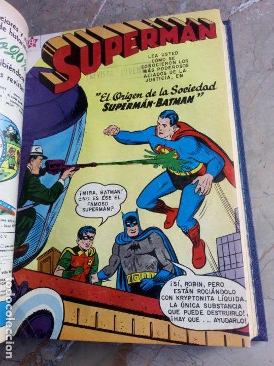 SUPERMAN TOMO CON 13 CÓMICS SUPERMAN NÚMEROS BAJOS NOVARO (Tebeos y Comics - Novaro - Superman)