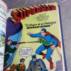 Tebeos: SUPERMAN TOMO CON 13 CÓMICS SUPERMAN NÚMEROS BAJOS NOVARO. Lote 236178970