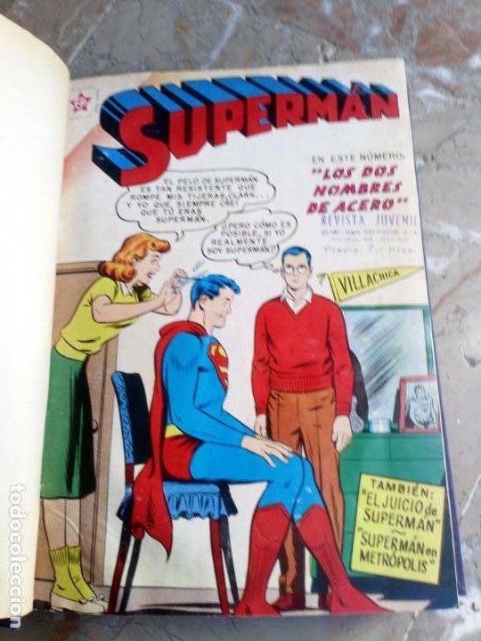Tebeos: Superman Tomo con 13 cómics Superman Números Bajos NOVARO - Foto 3 - 236178970