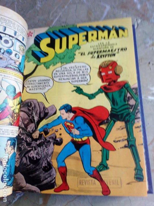Tebeos: Superman Tomo con 13 cómics Superman Números Bajos NOVARO - Foto 4 - 236178970