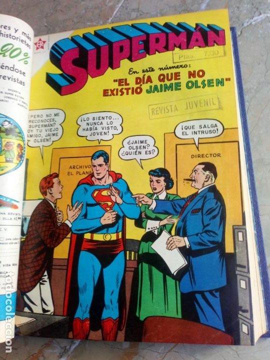 Tebeos: Superman Tomo con 13 cómics Superman Números Bajos NOVARO - Foto 5 - 236178970