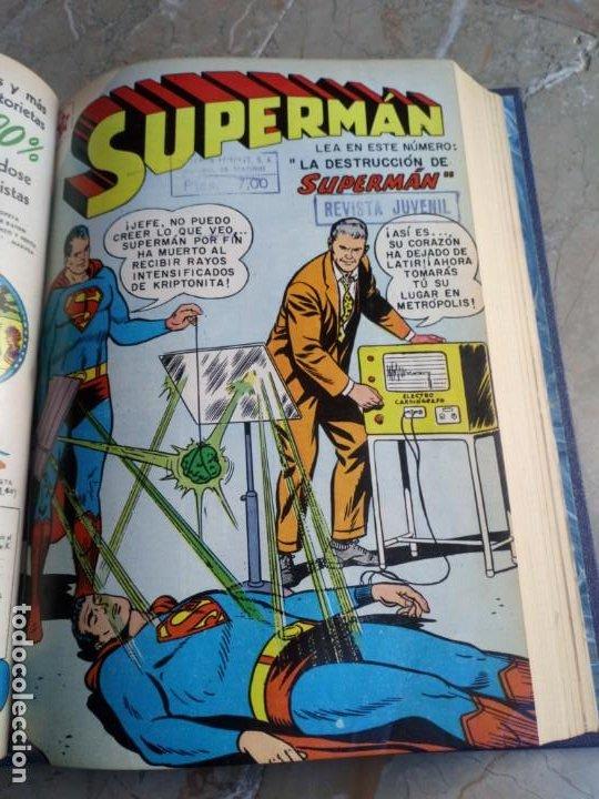 Tebeos: Superman Tomo con 13 cómics Superman Números Bajos NOVARO - Foto 6 - 236178970