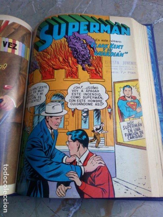Tebeos: Superman Tomo con 13 cómics Superman Números Bajos NOVARO - Foto 8 - 236178970