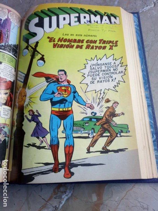 Tebeos: Superman Tomo con 13 cómics Superman Números Bajos NOVARO - Foto 9 - 236178970