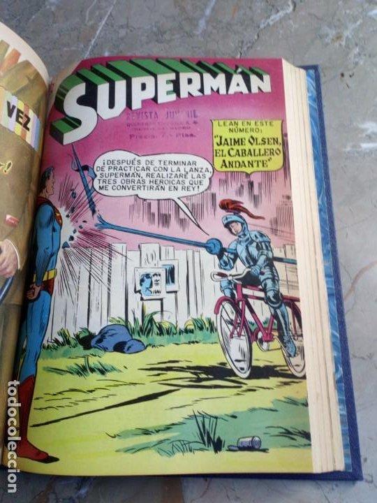 Tebeos: Superman Tomo con 13 cómics Superman Números Bajos NOVARO - Foto 10 - 236178970