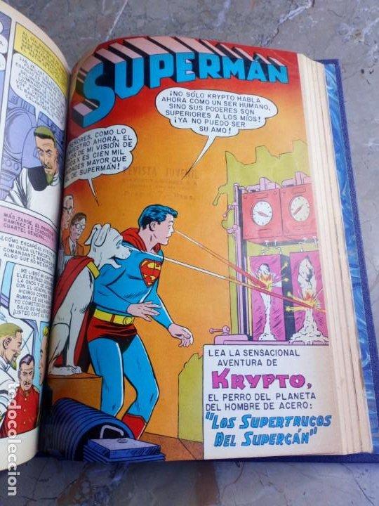Tebeos: Superman Tomo con 13 cómics Superman Números Bajos NOVARO - Foto 11 - 236178970