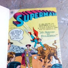 Tebeos: SUPERMAN TOMO CON 10 NÚMEROS MUY BAJOS Y 3 CÓMICS ORIGINALES EN INGLÉS NOVARO. Lote 236180575