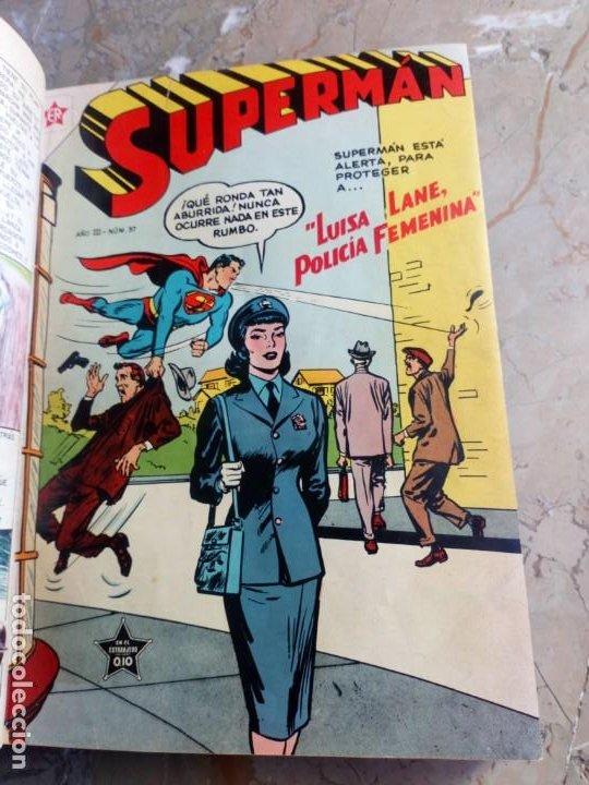 Tebeos: Superman Tomo con 10 Números muy bajos y 3 cómics Originales en Inglés NOVARO - Foto 3 - 236180575