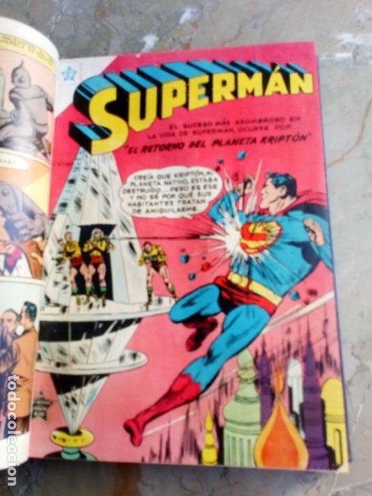Tebeos: Superman Tomo con 10 Números muy bajos y 3 cómics Originales en Inglés NOVARO - Foto 4 - 236180575
