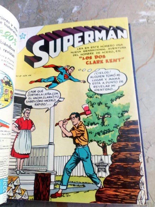 Tebeos: Superman Tomo con 10 Números muy bajos y 3 cómics Originales en Inglés NOVARO - Foto 5 - 236180575