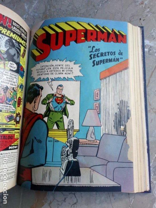 Tebeos: Superman Tomo con 10 Números muy bajos y 3 cómics Originales en Inglés NOVARO - Foto 10 - 236180575