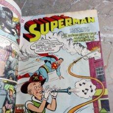 Tebeos: SUPERMAN TOMO CON 8 CÓMICS SUPERMAN Y 3 CÓMICS SUPERMÁN Y SUS AMIGOS NÚMEROS BAJOS NOVARO. Lote 236184220