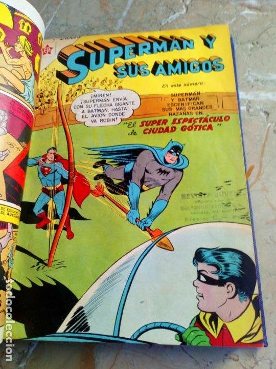 Tebeos: Superman Tomo con 8 cómics Superman y 3 cómics Supermán y sus Amigos Números Bajos NOVARO - Foto 3 - 236184220