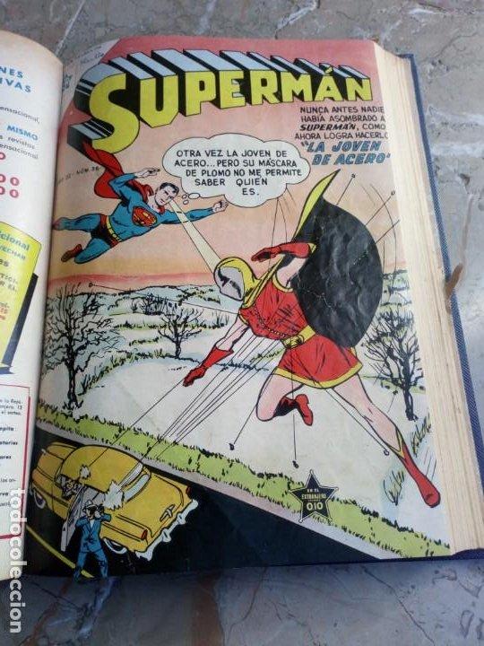 Tebeos: Superman Tomo con 8 cómics Superman y 3 cómics Supermán y sus Amigos Números Bajos NOVARO - Foto 4 - 236184220