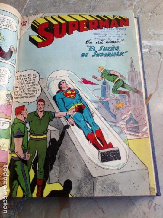 Tebeos: Superman Tomo con 8 cómics Superman y 3 cómics Supermán y sus Amigos Números Bajos NOVARO - Foto 5 - 236184220