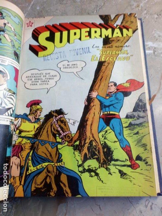 Tebeos: Superman Tomo con 8 cómics Superman y 3 cómics Supermán y sus Amigos Números Bajos NOVARO - Foto 6 - 236184220