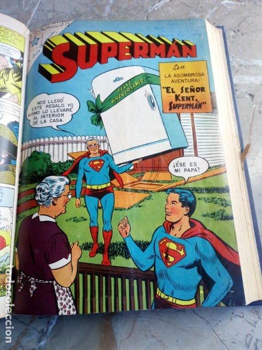 Tebeos: Superman Tomo con 8 cómics Superman y 3 cómics Supermán y sus Amigos Números Bajos NOVARO - Foto 7 - 236184220