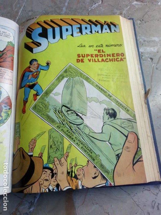 Tebeos: Superman Tomo con 8 cómics Superman y 3 cómics Supermán y sus Amigos Números Bajos NOVARO - Foto 8 - 236184220