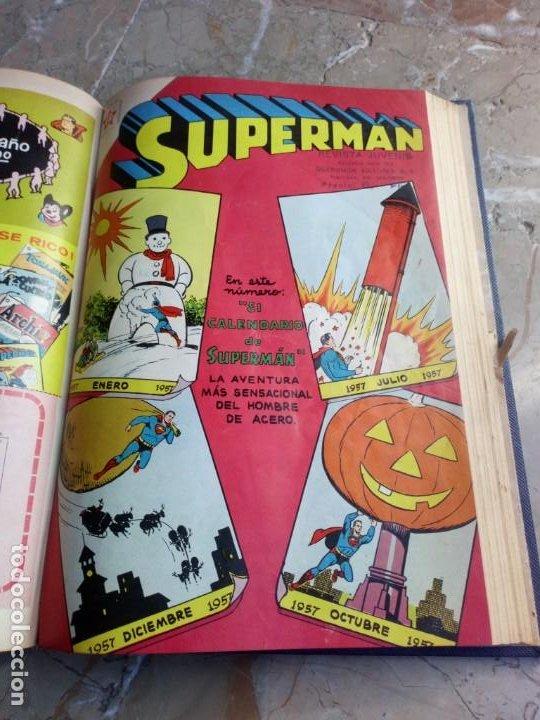 Tebeos: Superman Tomo con 8 cómics Superman y 3 cómics Supermán y sus Amigos Números Bajos NOVARO - Foto 9 - 236184220