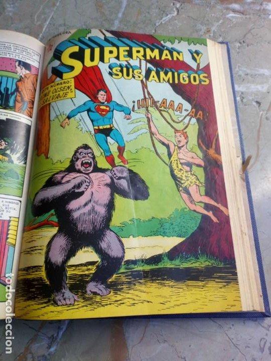 Tebeos: Superman Tomo con 8 cómics Superman y 3 cómics Supermán y sus Amigos Números Bajos NOVARO - Foto 10 - 236184220