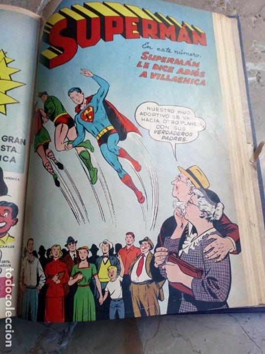 Tebeos: Superman Tomo con 8 cómics Superman y 3 cómics Supermán y sus Amigos Números Bajos NOVARO - Foto 11 - 236184220