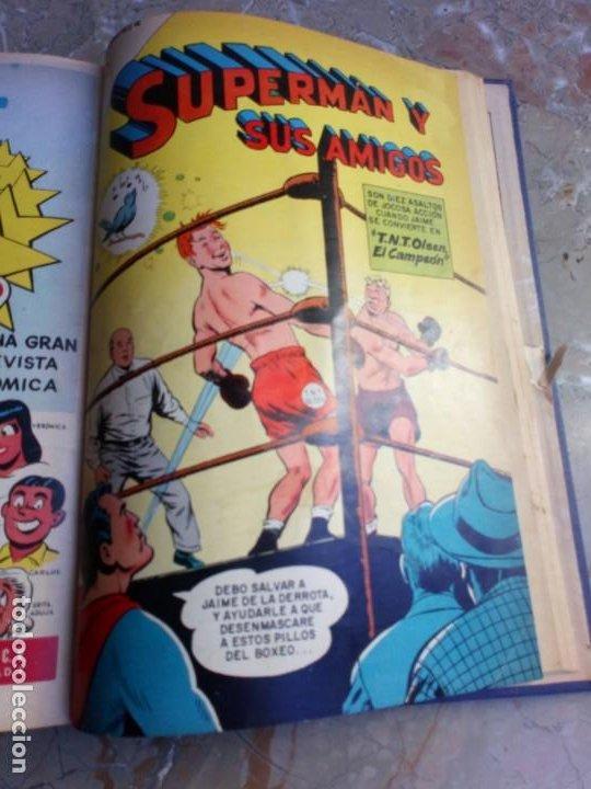 Tebeos: Superman Tomo con 8 cómics Superman y 3 cómics Supermán y sus Amigos Números Bajos NOVARO - Foto 12 - 236184220