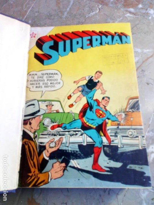 Tebeos: Superman Tomo con 13 cómics Superman y 5 cómics Supermán y sus Amigos Números Muy Bajos NOVARO - Foto 3 - 236185425
