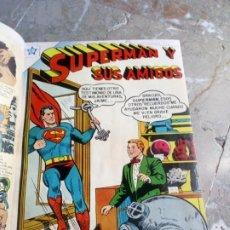 Tebeos: SUPERMAN TOMO CON 13 CÓMICS SUPERMAN Y 5 CÓMICS SUPERMÁN Y SUS AMIGOS NÚMEROS MUY BAJOS NOVARO. Lote 236185425