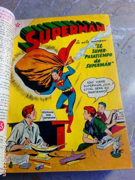 Tebeos: Superman Tomo con 13 cómics Superman y 5 cómics Supermán y sus Amigos Números Muy Bajos NOVARO - Foto 4 - 236185425