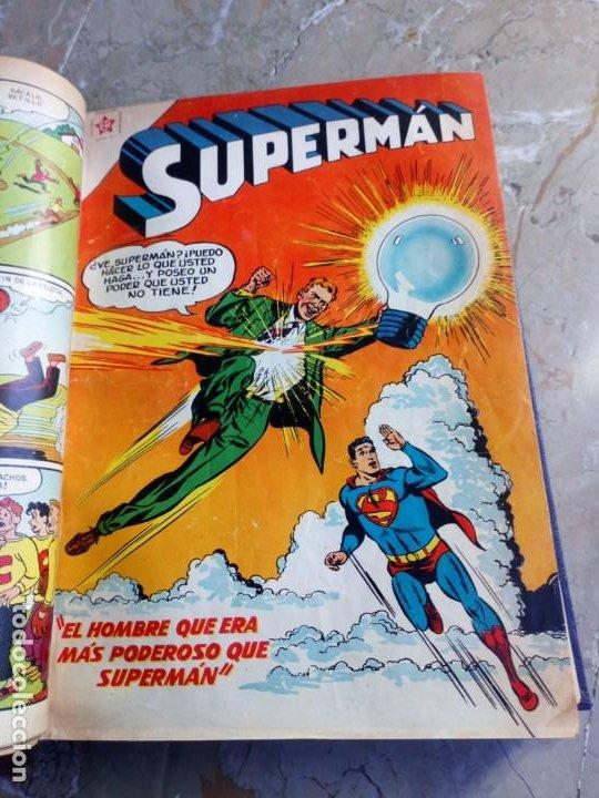 Tebeos: Superman Tomo con 13 cómics Superman y 5 cómics Supermán y sus Amigos Números Muy Bajos NOVARO - Foto 7 - 236185425