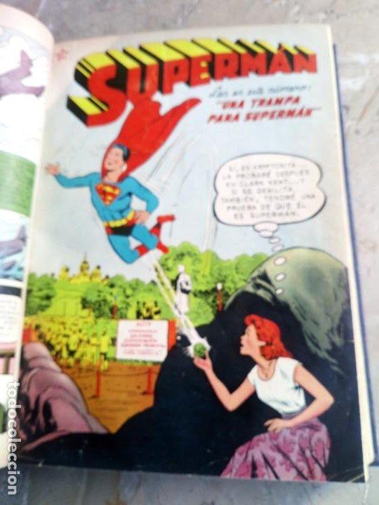 Tebeos: Superman Tomo con 13 cómics Superman y 5 cómics Supermán y sus Amigos Números Muy Bajos NOVARO - Foto 8 - 236185425