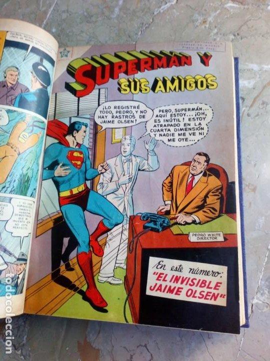 Tebeos: Superman Tomo con 13 cómics Superman y 5 cómics Supermán y sus Amigos Números Muy Bajos NOVARO - Foto 10 - 236185425