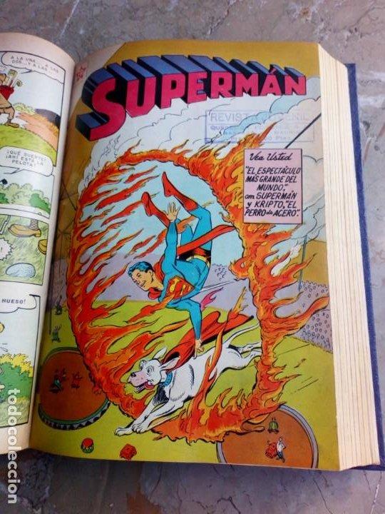 Tebeos: Superman Tomo con 13 cómics Superman y 5 cómics Supermán y sus Amigos Números Muy Bajos NOVARO - Foto 11 - 236185425