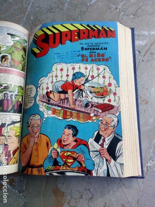 Tebeos: Superman Tomo con 13 cómics Superman y 5 cómics Supermán y sus Amigos Números Muy Bajos NOVARO - Foto 12 - 236185425