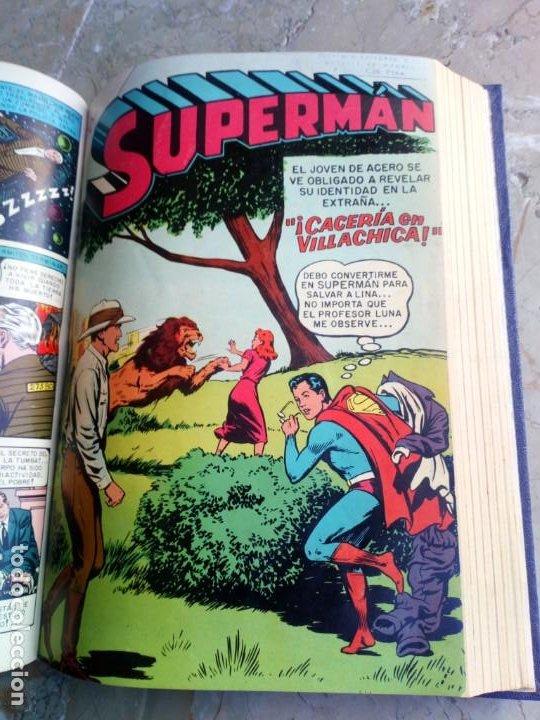 Tebeos: Superman Tomo con 13 cómics Superman y 5 cómics Supermán y sus Amigos Números Muy Bajos NOVARO - Foto 13 - 236185425