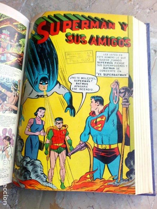 Tebeos: Superman Tomo con 13 cómics Superman y 5 cómics Supermán y sus Amigos Números Muy Bajos NOVARO - Foto 14 - 236185425