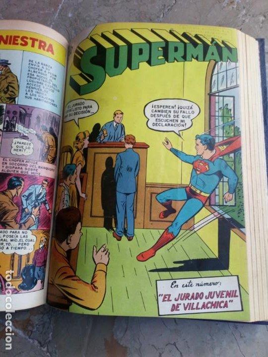 Tebeos: Superman Tomo con 13 cómics Superman y 5 cómics Supermán y sus Amigos Números Muy Bajos NOVARO - Foto 15 - 236185425