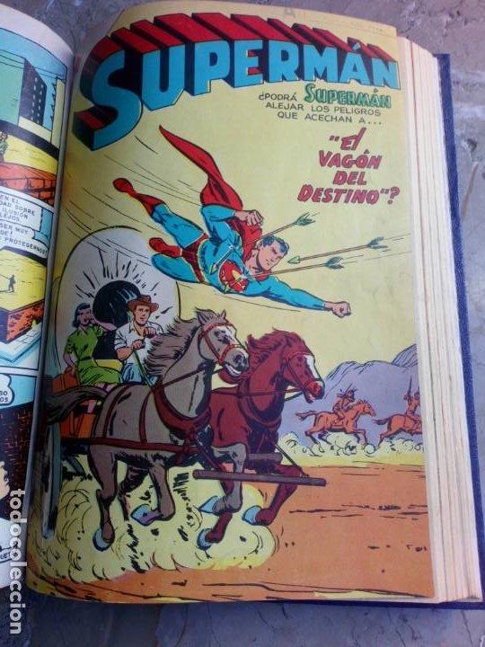 Tebeos: Superman Tomo con 13 cómics Superman y 5 cómics Supermán y sus Amigos Números Muy Bajos NOVARO - Foto 16 - 236185425