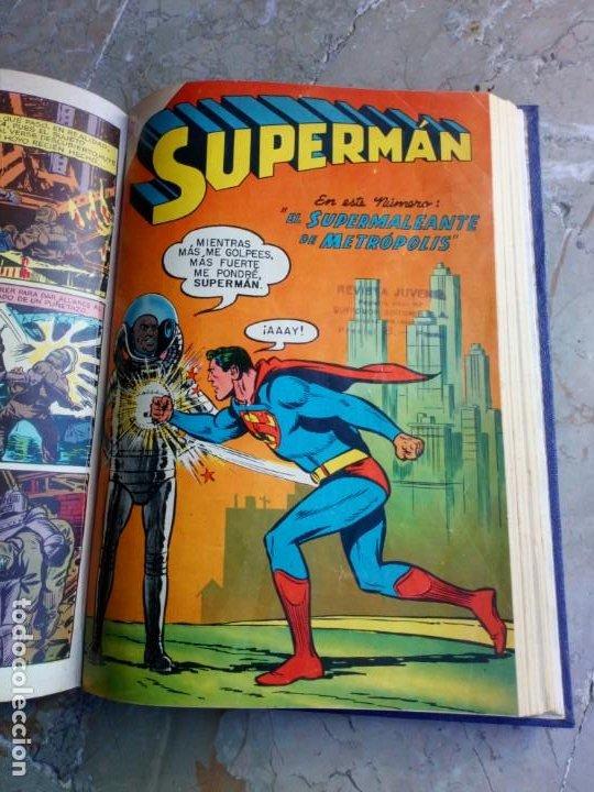 Tebeos: Superman Tomo con 13 cómics Superman y 5 cómics Supermán y sus Amigos Números Muy Bajos NOVARO - Foto 17 - 236185425