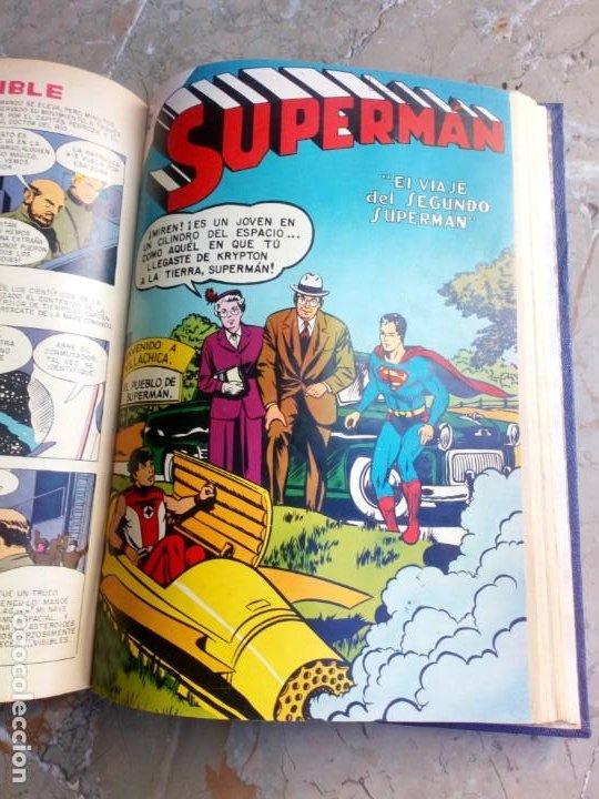 Tebeos: Superman Tomo con 13 cómics Superman y 5 cómics Supermán y sus Amigos Números Muy Bajos NOVARO - Foto 18 - 236185425