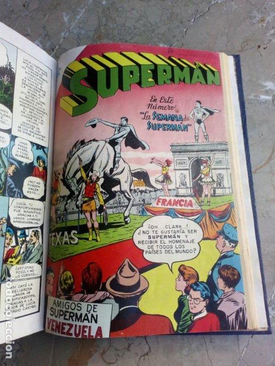 Tebeos: Superman Tomo con 13 cómics Superman y 5 cómics Supermán y sus Amigos Números Muy Bajos NOVARO - Foto 19 - 236185425