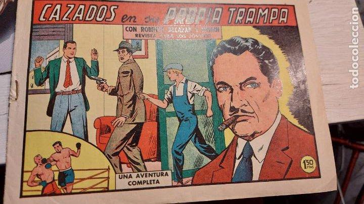 AVENTURA CAZADOS EN SU PROPIA TRAMPA (Tebeos y Comics - Novaro - Aventura)