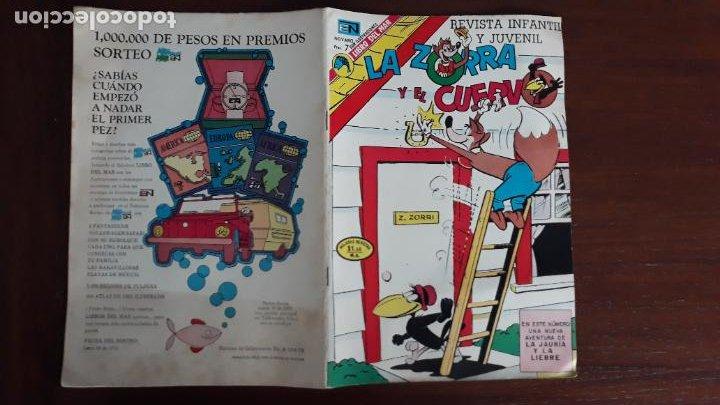 LA ZORRA Y EL CUERVO NOVARO Nº 320 (Tebeos y Comics - Novaro - Otros)