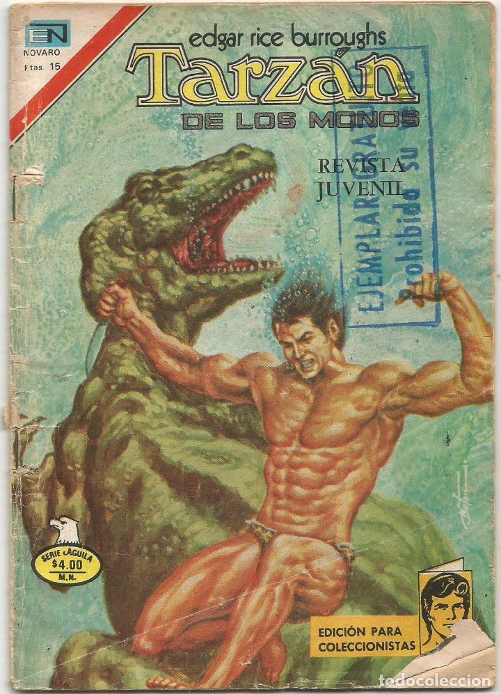 TARZAN DE LOS MONOS Nº 2 551 ED NOVARO AGOSTO 1977 (Tebeos y Comics - Novaro - Tarzán)