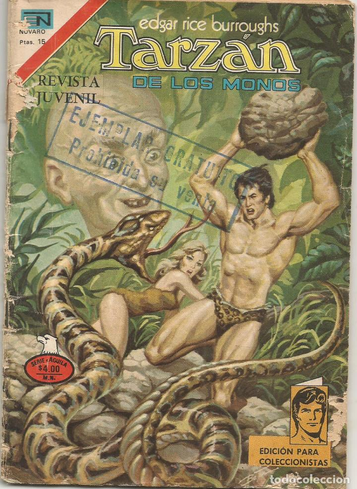 TARZAN DE LOS MONOS Nº 2 546 ED NOVARO JULIO 1977 (Tebeos y Comics - Novaro - Tarzán)