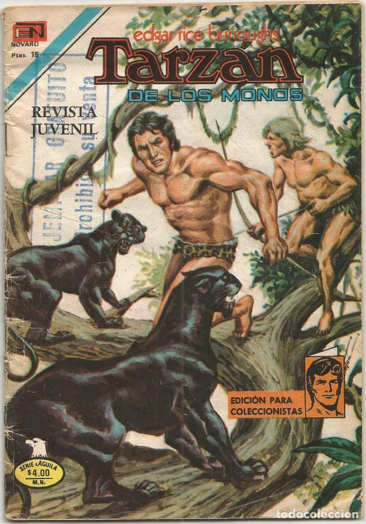 TARZAN DE LOS MONOS Nº 2 552 ED NOVARO 24 AGOSTO 1977 (Tebeos y Comics - Novaro - Tarzán)