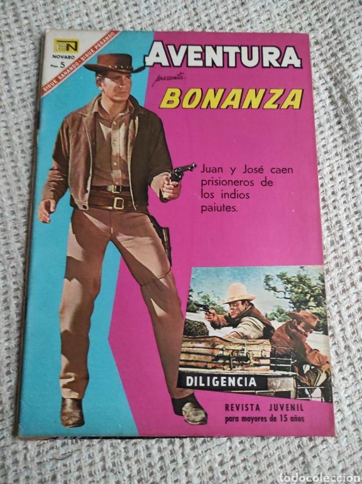 AVENTURA NOVARO Nº 481 ( BONANZA ) (Tebeos y Comics - Novaro - Aventura)